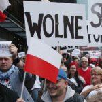 Polish journalists protest vs PiS 2016