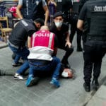 TURKEY-PRIDE-MARCH-MEDIA-POLICE