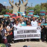 Turkey human rights demonstration June 2021